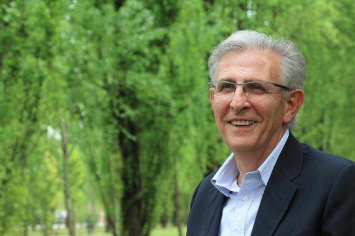 Il sindaco Salvarani