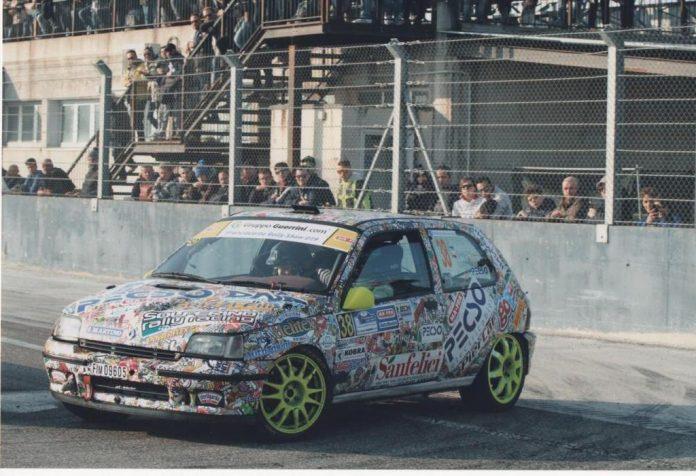 La Renault Clio Williams di Grizzi e Tenca