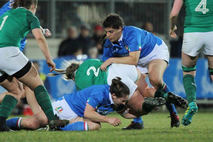 Gaia Giacomoli contro l'Irlanda