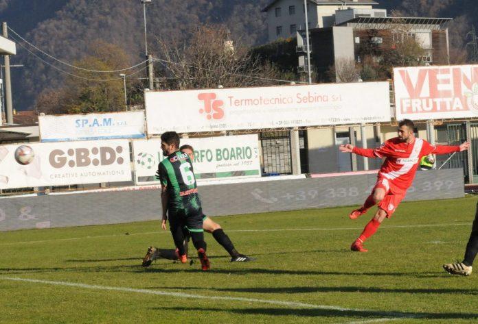 Il gol di Ferri Marini all'andata: finì 1-1