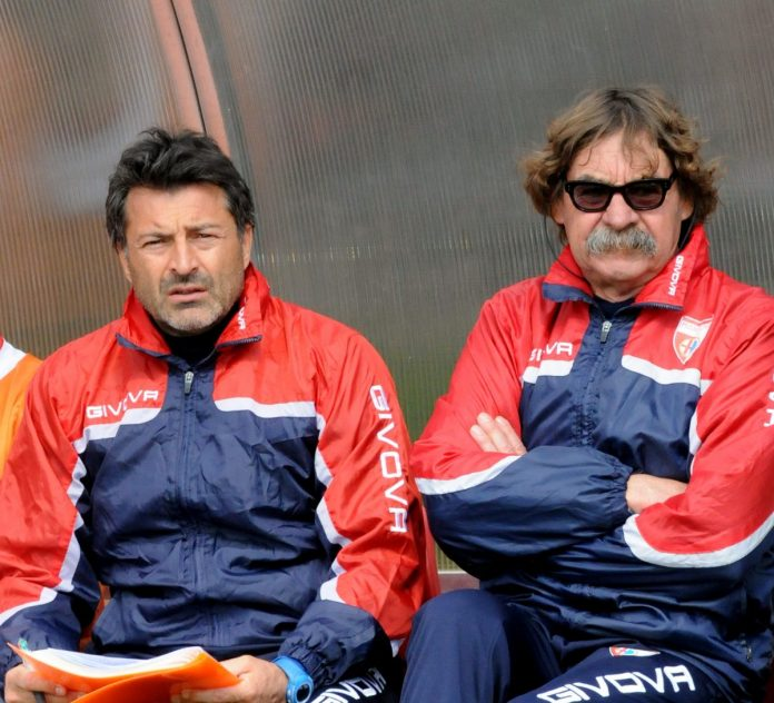 Massimo Morgia (a destra) con il suo vice Luca Lugnan