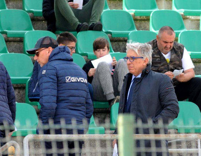Il presidente Masiello con il dg Pecchini