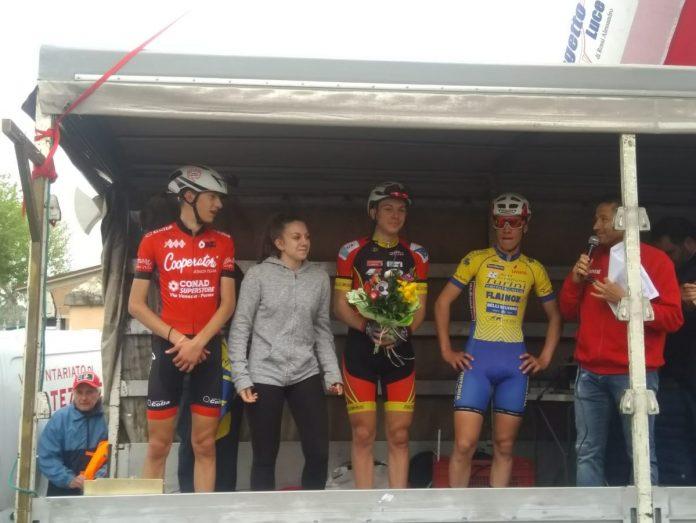 Diego Ressi sul podio a San Marino di Carpi