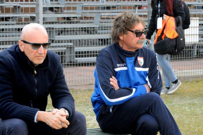 Ettore Masiello e mister Morgia