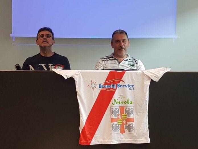 Daniele Bruschi e Cristiano Rondelli in conferenza stampa