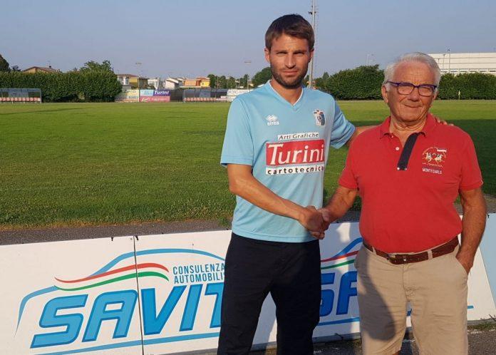 Turini presenta Martino Olivetti in maglia Castellana