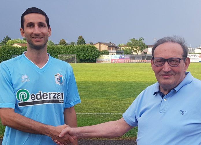 Marcello Olivetti con patron Pezzini