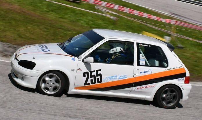 La Peugeot 106 GTi S16 di Alessandro Bondanza