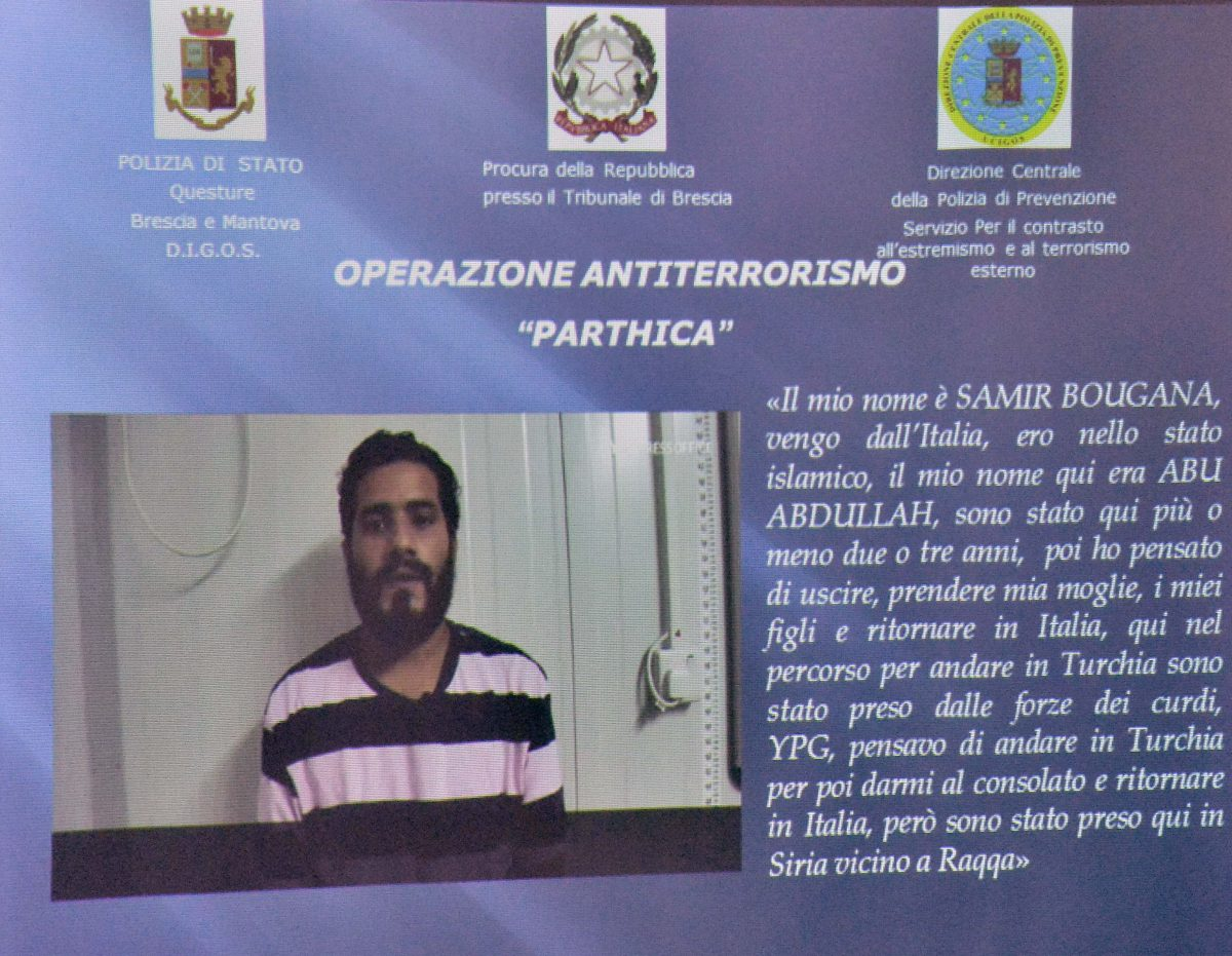 Nato a Brescia, terrorista islamico in Siria: arrestato foreign fighter