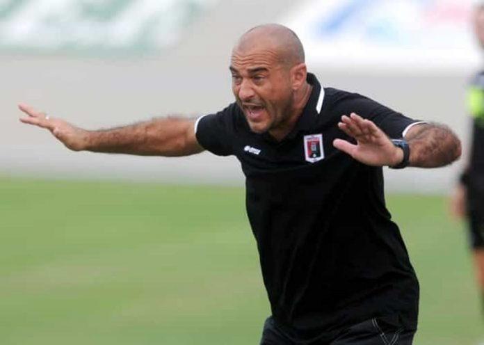 L'allenatore Lucio Brando