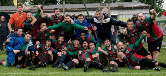 La Ceresarese festeggia dopo il secondo turno play off 2018/19
