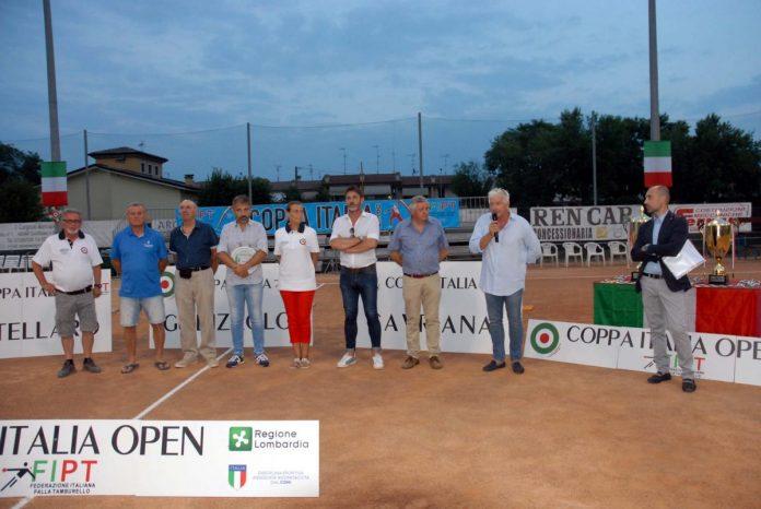 Inaugurazione Coppa Italia