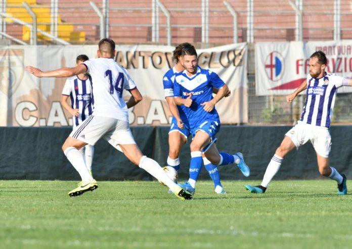 Una fase di Brescia-Valladolid