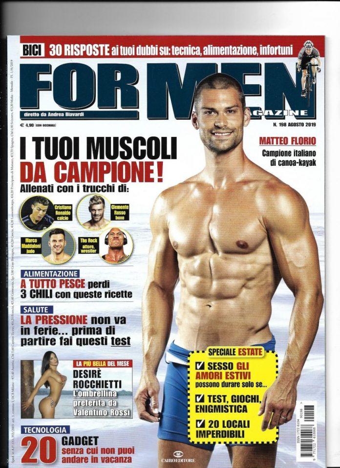 Matteo Florio sulla copertina di