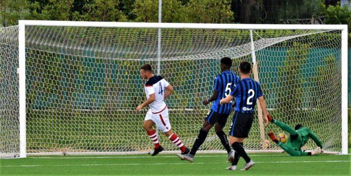 Il gol di Mangili