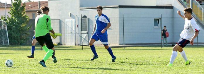 Il gol di Mariotti in Cannetese-Porto