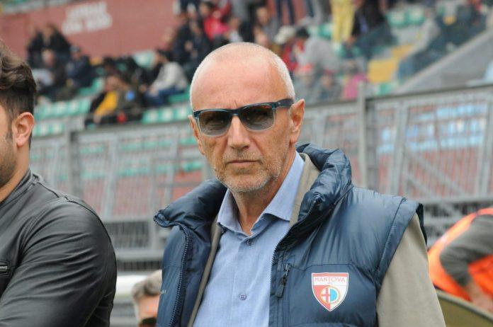 Il presidente del Mantova Ettore Masiello