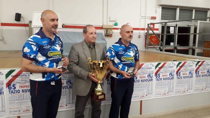 I vincitori del Trrofeo Tazio Nuvolari - Roberto Manghi e Paolo Signorini