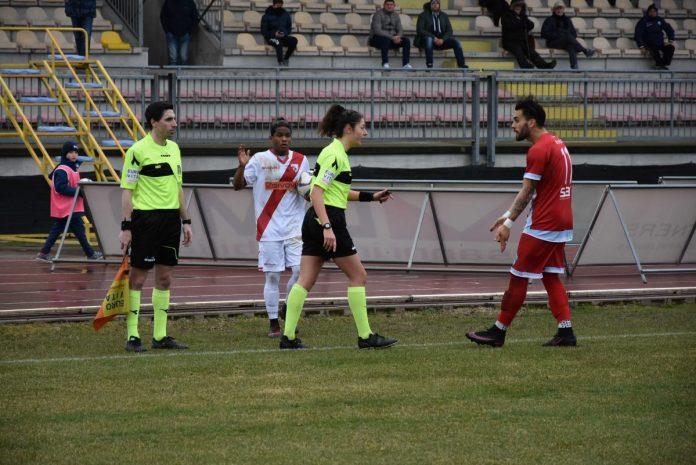 Maria Sole Ferrieri Caputi in Legnago-Mantova del 18 febbraio 2018