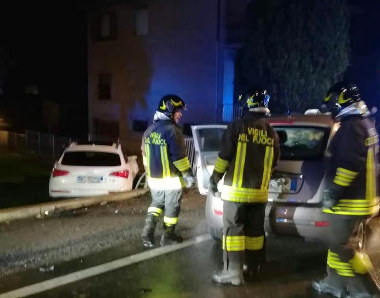 Violento frontale sulla Sp 2 Grave una 34enne di Viadana - La Voce di Mantova