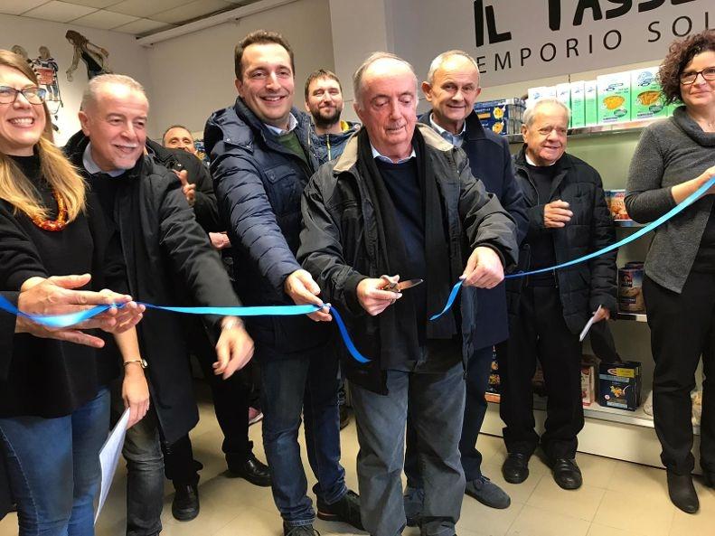 Inaugurato a Quistello il nuovo emporio solidale - La Voce di Mantova