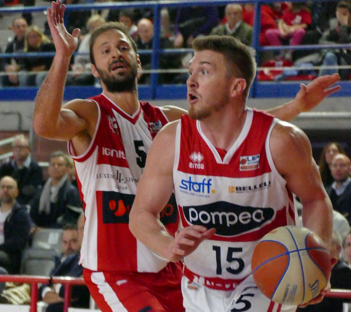 Basket A2 maschile - Pompea a San Severo per altri due punti - La Voce di Mantova