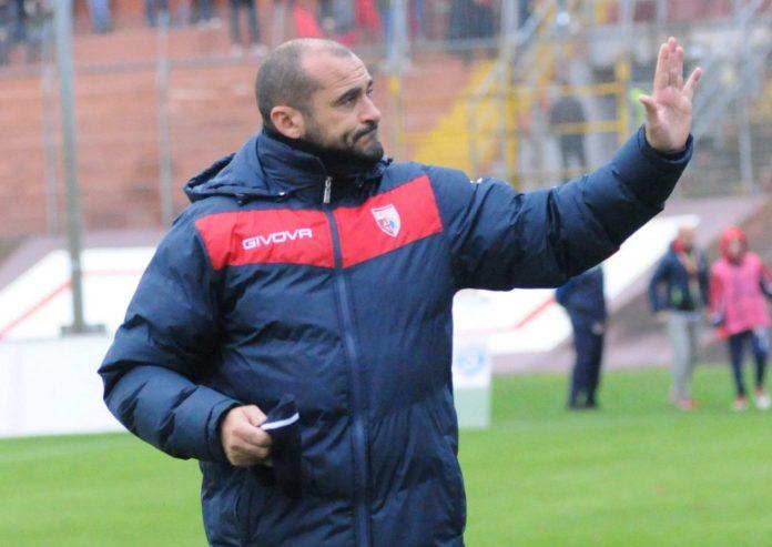 L'allenatore del Mantova, Lucio Brando