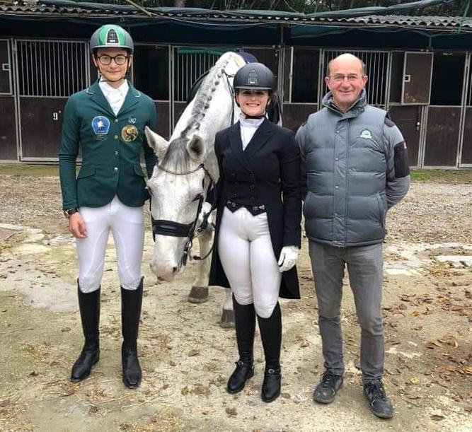 Andrea Tommasini,, Costanza Mossini e l'istruttore Guus Op De Ven
