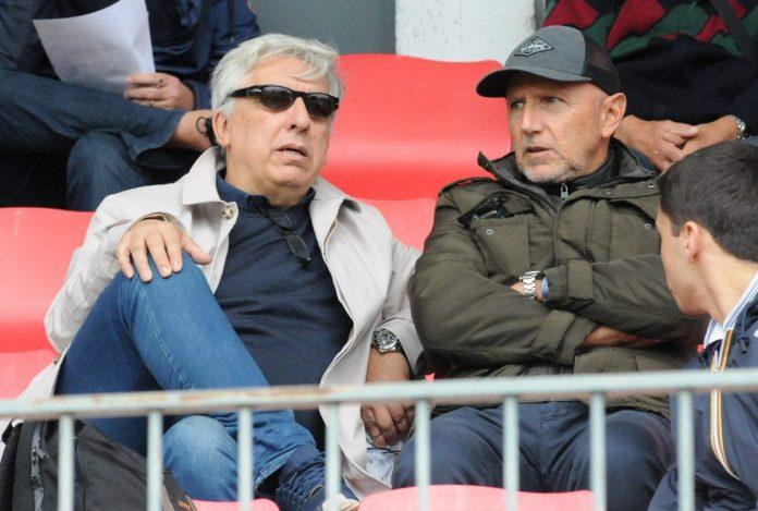 Gianluca Pecchini con Ettore Masiello