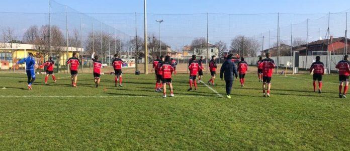 Il Mantova si allena a Nogarole Rocca