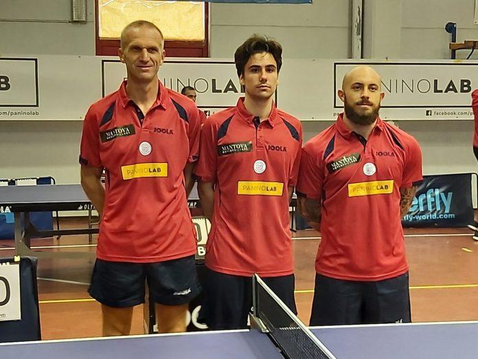 Dmitriy Samsonov, Marco Frigeri e Dario Vincenzo Sanzio