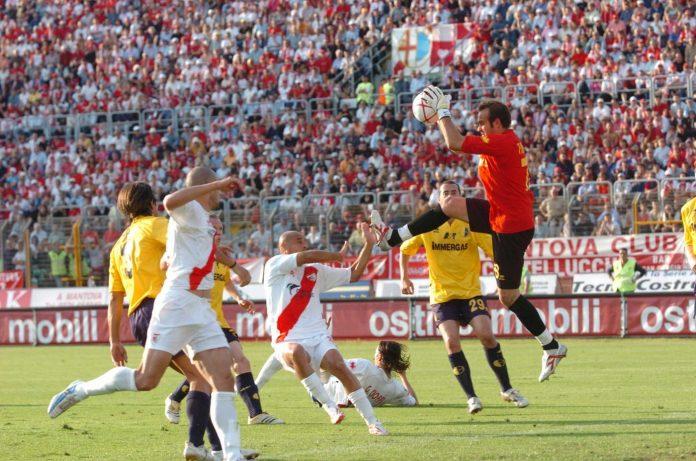 Martelli gremito per Mantova-Modena, semifinale play off di Serie B 2005-06