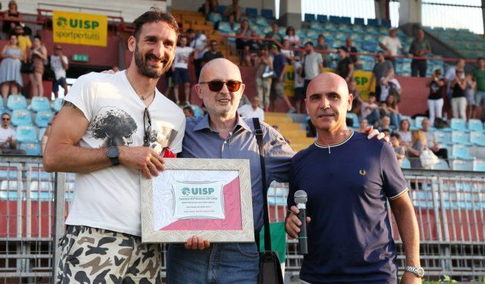 Ciccio Graziani con Ferrarini e D'Alessandro