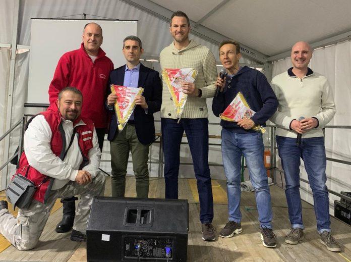 I vertici del Ccmc a Sorbolo col sindaco di Parma Pizzarotti e Cristiano Militello