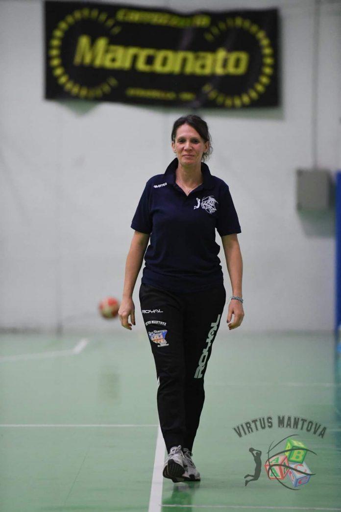 La coach Federica Cestari