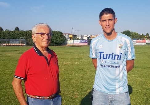 Nicola Piras con Turini