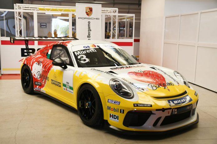La Porsche 911 GT3 di Marzio Moretti