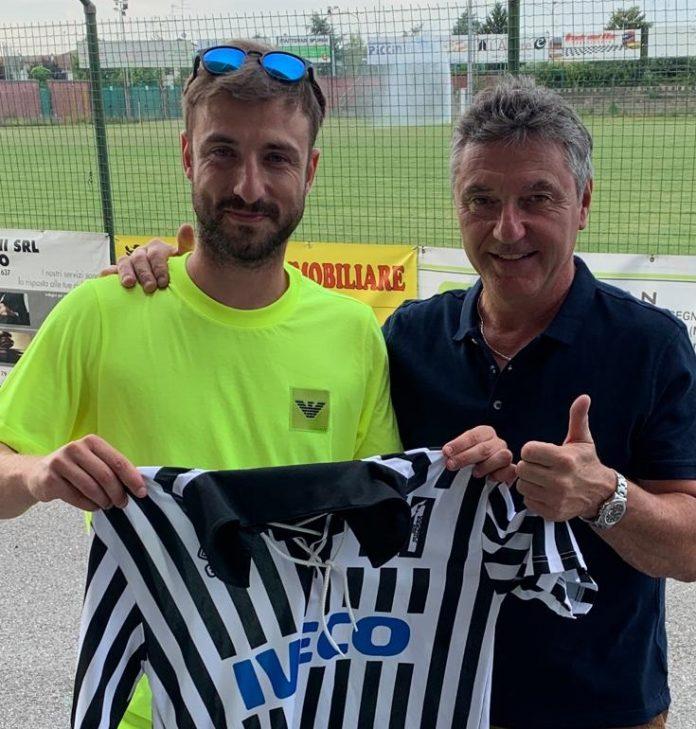 Luca Ruggeri col ds Piccinini