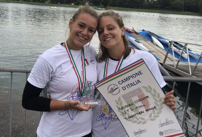 Beatrice Gaggero e Sara Vesentini