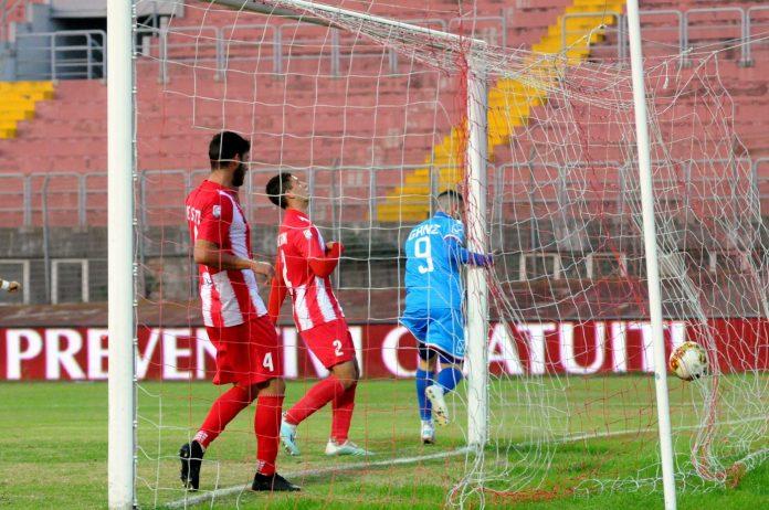 Il primo gol di Ganz al Matelica