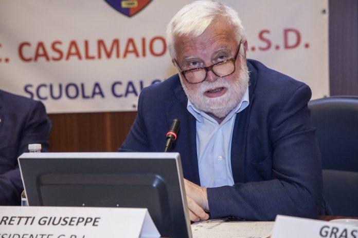 Giuseppe Baretti, presidente Crl