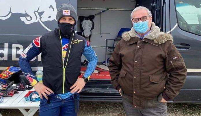 Andrea Dovizioso e Guido Pavesi