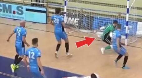 Il gol del Saviatesta contro il Came Dosson non convalidato dall'arbitro