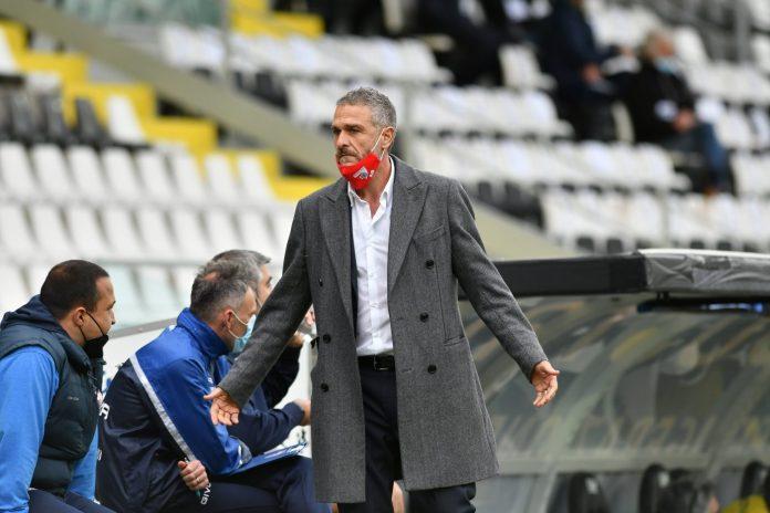 Il diesse del Mantova Alessandro Battisti