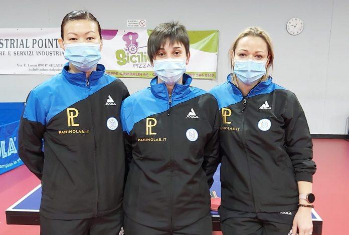 Tian Jing, Veronica Mosconi e Ruta Paskauskiene