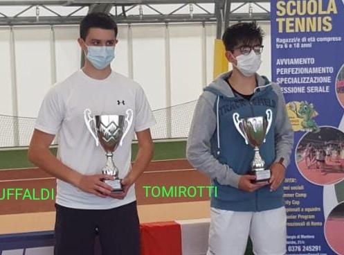 I finalisti Baruffaldi e Tomirotti
